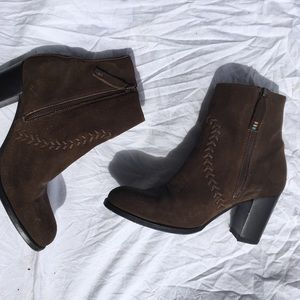 Ariat Brown Leather Bootie